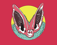 WormBat Records - Logo & Identity