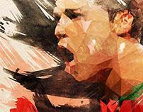 Illustrations - FIFA World Cup 2014 // Malvika Asher