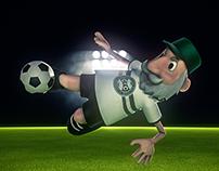 Vovô Coxa 3D character