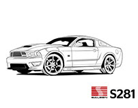 Saleen S281 Illustration