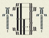 Dandy Collection Typeface / Font #1 / BAUDELAIRE / 2011