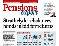 Pensions Expert rebrand / redesign