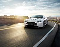 Aston Martin V12 Vantage - CGI & Retouching