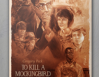 To Kill A Mockingbird- Struzan Tribute
