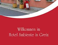 Hotel Ambiente Flyer