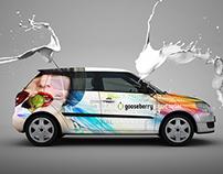 CarWrap Design for Gooseberry
