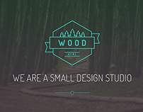 WOOD HTML Template