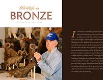 Magazine Design - Hunting & Fishing Magazine