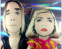 Iggy Pop & Blondie - Plush Toy