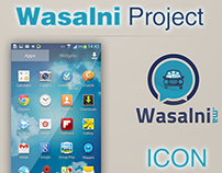Wasalni - App Design Android