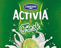 DANONE Activia Fresh