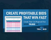 Banner Design - TruBid, Inc.