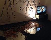 Installation Art TREE - Puzzle Art Expò 2013