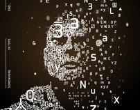 Autoportrait typographique