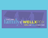 Banner Design - WellxPDX & Portland Family Magazine