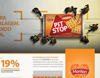 Anúncio Pit Stop Marilan