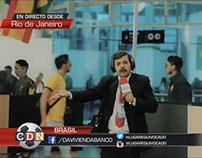 Corresponsal Davienda Mundial Brasil 2014