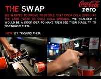 THE SWAP COCA COLA ZERO TV, INTERNET & ACTION