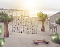 Urban Forest Event Print Ads