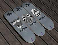 Alena Skateboard Graphics, The Ancestor Series