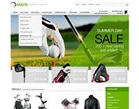 Golf store PrestaShop Theme - ET Golf