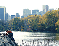 The Lake / Central Park, NYC.