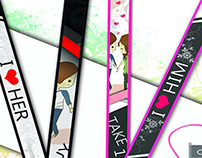 Lanyard Designs & Ads (commission artwork)