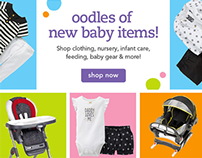 Oodles of New Baby Items