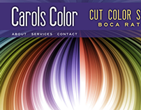Haircolor Stylist Website Design - Boca Raton, FL