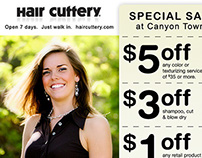 Hair Cuttery - Email Marketing Campaign