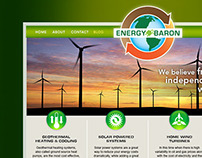 Website Design - Energy Baron