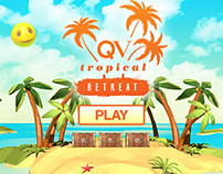 QV Tropical Retreat Web Game