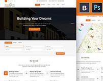 Dream Home Real Estate PSD Template