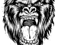 Enraged Gorilla