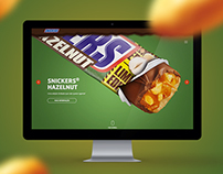 Snickers.pt Re-design