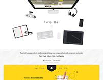 Fırış Bal - Web Interface Design