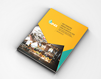 ANG Cooling Machines Brochure Design