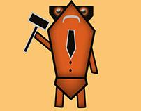 Cartie | Character Design | Illustrating | Tie |