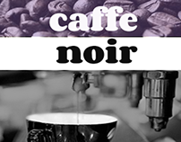 Caffe Noir: Mobile Site Design