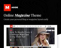 Maggie | Online Magazine Theme