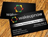 Ignacio zamudio on behance wakeupnow business cards colourmoves
