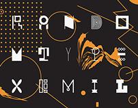 Random font