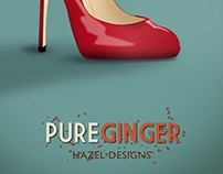 Pure Ginger posters - student work