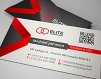 Corporate Clean Business Card 35