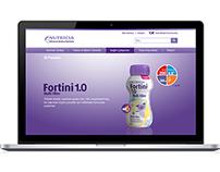Nutricia Turkey - Medical Nutrition - Web Design