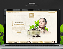 Web UI Cosmetic Luxury