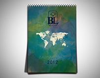 Calendar for Baltic Land 2012
