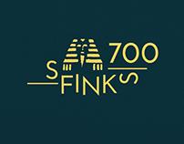 projekt identyfikacji wizualnej klubu SFINKS 700