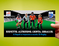 Rugby Event invitation
