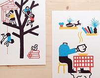 Olga Capdevila + Barba Silkscreen Atelier